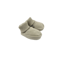 Forgaminnt Baby Booties Amber Yarn Light Olive