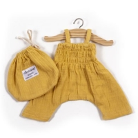 Baby Doll Dungaree Bonnie Mustard